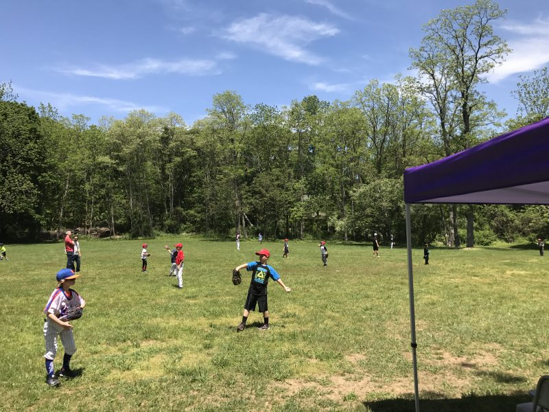 "Dr. Christoforou Helps Organize and Participates in ""Field of Dreams"" Youth Baseball Clinic"