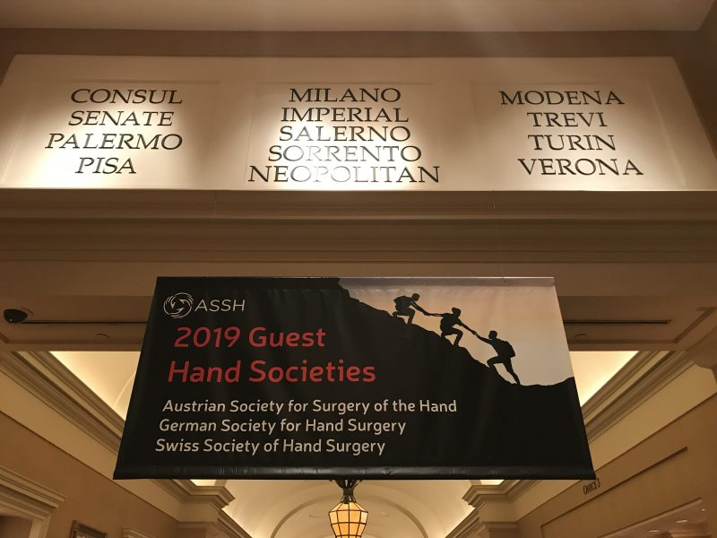 74th Annual Meeting of the American Society for Surgery of the Hand